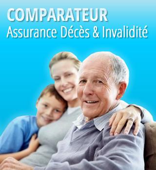 Comparateur assurance décès & invalidité