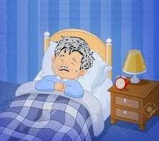 Santé  des seniors âgés: le trouble du sommeil