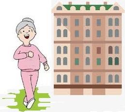 Santé seniors après  60 ans: sortir de chez soi tous les jours
