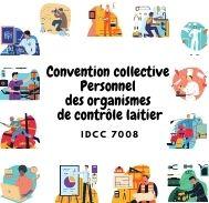 Mutuelle entreprise Convention collective personnel des organismes de contrôle laitier - IDCC 7008