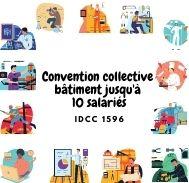 Mutuelle Entreprise - Convention collective bâtiment jusqu'à 10 salariés - IDCC 1596