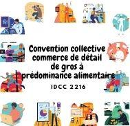 Mutuelle entreprise - Convention collective commerce détail et de gros à prédominance alimentaire - IDCC 2216