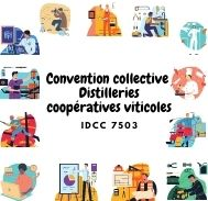 Mutuelle entreprise - Convention collective distilleries coopératives viticoles - IDCC 7503