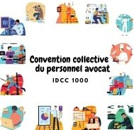 Mutuelle entreprise - Convention collective du personnel avocat - IDCC 1000