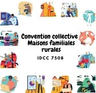 Mutuelle entreprise –  Convention collective maisons familiales rurales - IDCC 7508