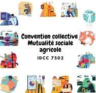 Mutuelle entreprise –  Convention collective mutualité sociale agricole - IDCC 7502