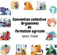 Mutuelle entreprise –  Convention collective organismes de formation agricole - IDCC 7509