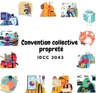Mutuelle entreprise – Convention collective propreté – IDCC 3043
