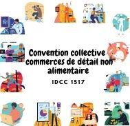 Mutuelle entreprise - Convention  commerces de détail non alimentaire - IDCC 1517