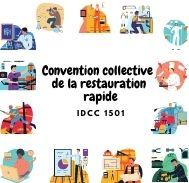 Mutuelle entreprise - Convention  collective de la restauration rapide - IDCC 1501