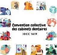 Mutuelle entreprise – Convention collective des cabinets dentaires – IDCC 1619