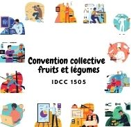Mutuelle entreprise - Convention  collective fruits et légumes - IDCC 1505