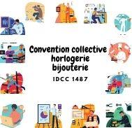 Mutuelle entreprise - Convention  collective horlogerie bijouterie - IDCC 1487