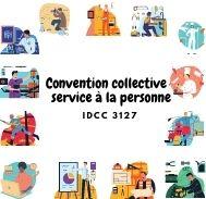 Mutuelle entreprise – Convention collective service à la personne – IDCC 3127
