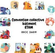 Mutuelle entreprise – Convention collective bâtiment ETAM – IDCC 2609