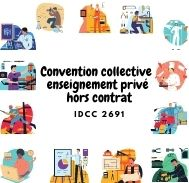 Mutuelle entreprise – Convention collective enseignement privé hors contrat – IDCC 2691