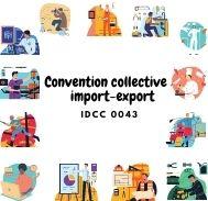 Mutuelle entreprise – Convention ccollective import-export – IDCC 0043