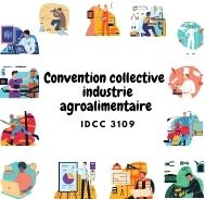 Mutuelle entreprise – Convention collective industrie agroalimentaire – IDCC 3109