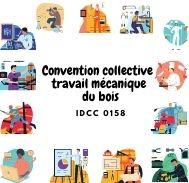 Mutuelle entreprise - Convention collective travail mécanique du bois - IDCC 0158