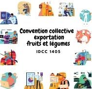 Mutuelle entreprise - Convention collective exportation fruits et légumes - IDCC 1405