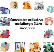 Mutuelle entreprise - Convention collective métallurgie Isère - IDCC 2221