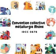 Mutuelle entreprise - Convention collective métallurgie Rhône - IDCC 0878