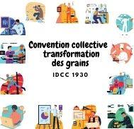 Mutuelle entreprise - Convention collective transformation des grains - IDCC 1930