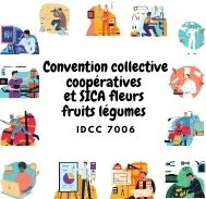 Mutuelle entreprise - Convention collective coopératives et SICA fleurs fruits légumes - IDCC 7006