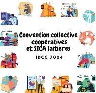 Mutuelle entreprise – Convention collective coopératives et sica laitières – IDCC 7004