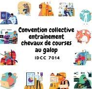 Mutuelle entreprise – Convention collective entraînement chevaux de courses au galop – IDCC 7014