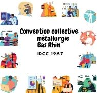 Mutuelle entreprise – Convention collective métallurgie Bas Rhin – IDCC 1967