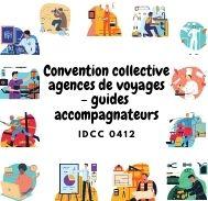 Mutuelle entreprise – Convention collective agences de voyages-guides accompagnateurs – IDCC 0412