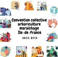 Mutuelle entreprise – Convention collective arboriculture maraîchage Île-de-France – IDCC 8113