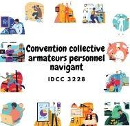 Mutuelle entreprise - Convention collective armateurs personnel navigant - IDCC 3228