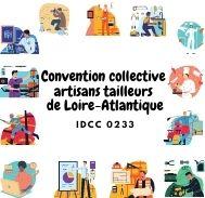 Mutuelle entreprise – Convention collective artisans tailleurs de Loire-Atlantique – IDCC 0233