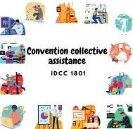 Mutuelle entreprise – Convention collective assistance – IDCC 1801