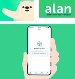 Appli mutuelle Alan  complémentaire santé 100% digitale
